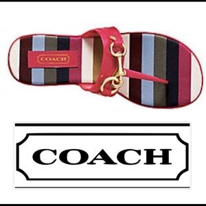 Coach Rikki Sandals 8 1/2